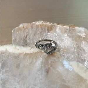 Sterling Silver Charmed Aroma Ring
